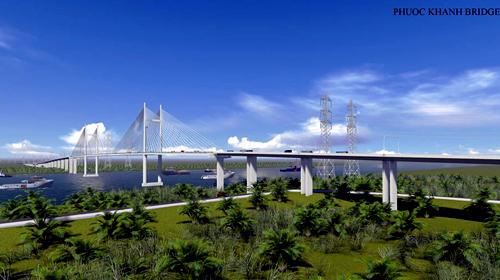 Xây cầu cao nhất nước, nối TP HCM và Đồng Nai